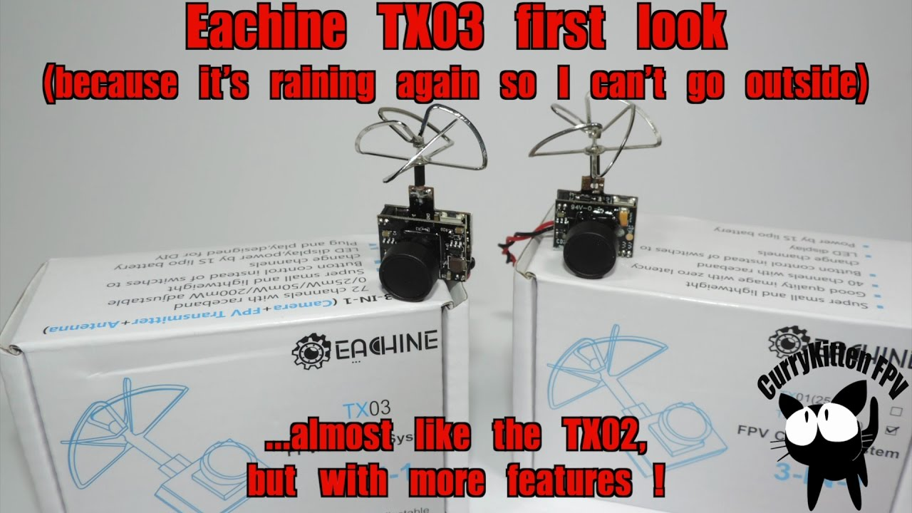 maxresdefault fpv first look the eachine tx03 mini vtx cam youtube  at bayanpartner.co