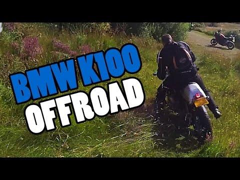 BMW K100 Offroad Fail