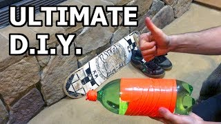 Ultimate DIY Training Board for Snowboard Tricks