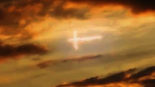MASSIVE CROSS SHAPED OBJECT CAUGHT ON TAPE! WHAT COULD IT BE?