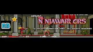 1987 [60fps] The Ninja Warriors 170260pts ALL