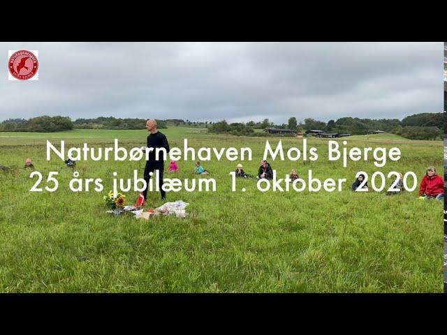 Tillykke til Naturbørnehaven Mols Bjerge med de 25 år