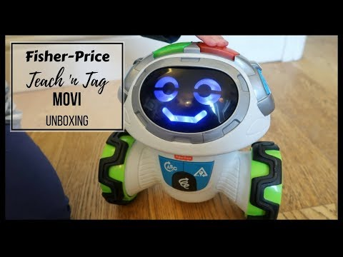 Fisher Price Teach 'n Tag Movi Unboxing...