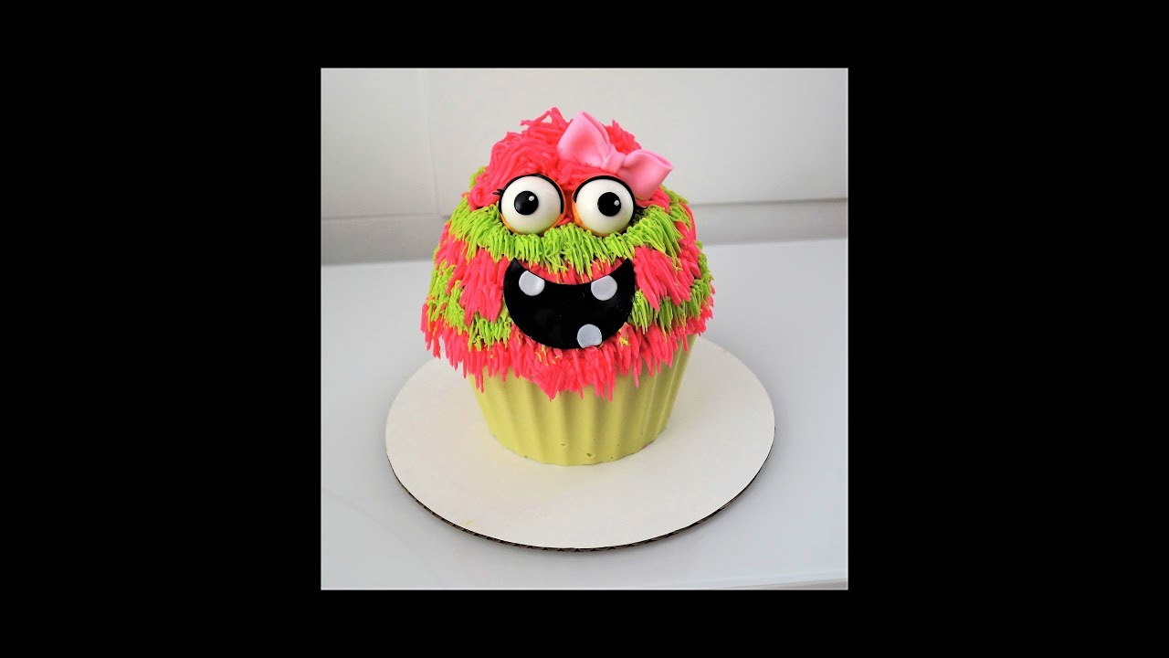 Cake decorating tutorials how to make a monster cake Sugarella