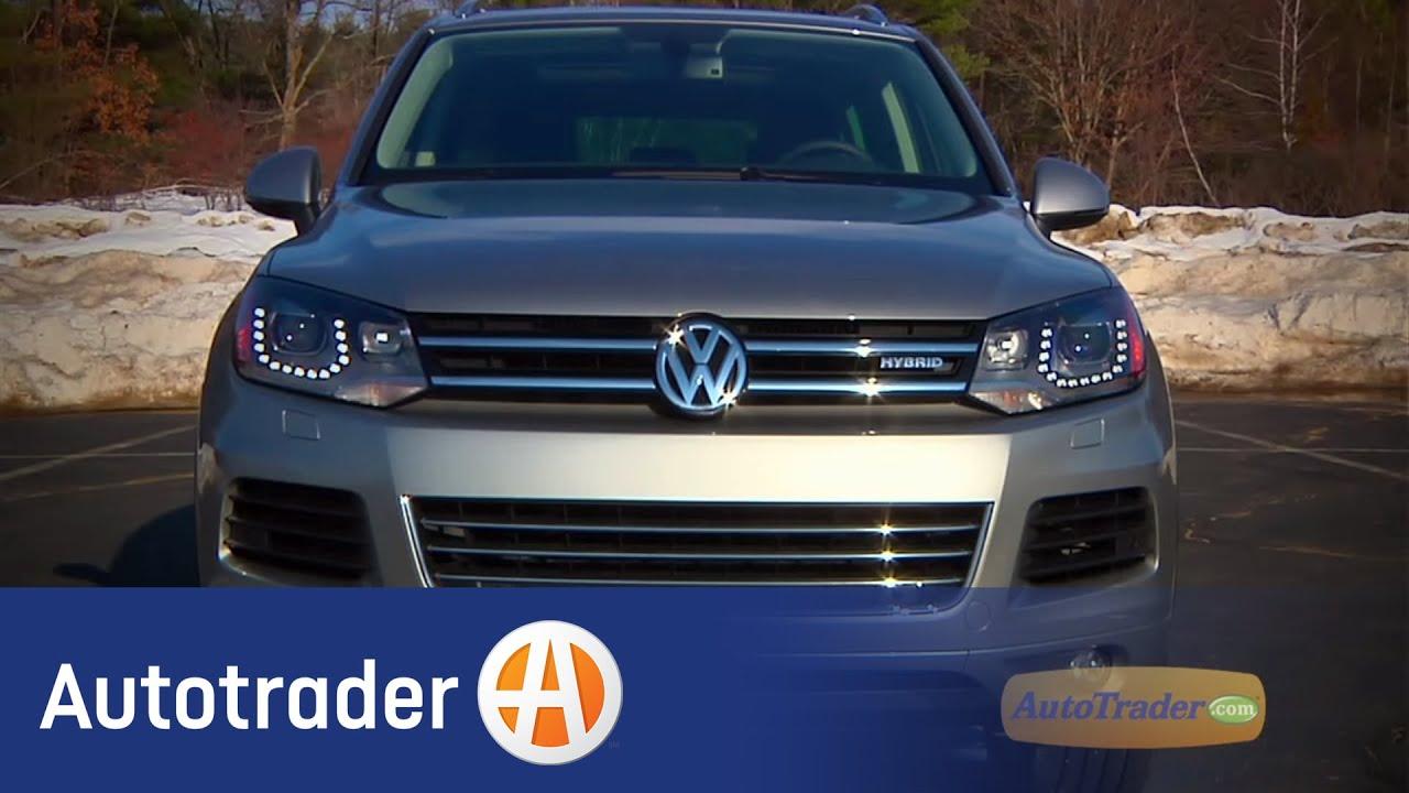 2017 Volkswagen Touareg Hybrid New Car Review Autotrader