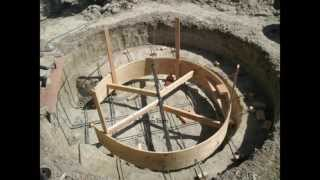 How To Build Backyard Concrete Pond Or Pool - Part Two Rebar And Forming