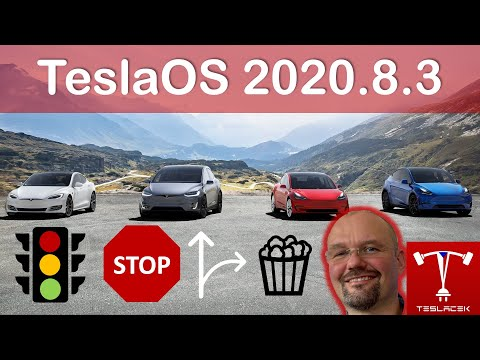 #157 Tesla OS 10.2 (FW 2020.8.3) | Teslacek