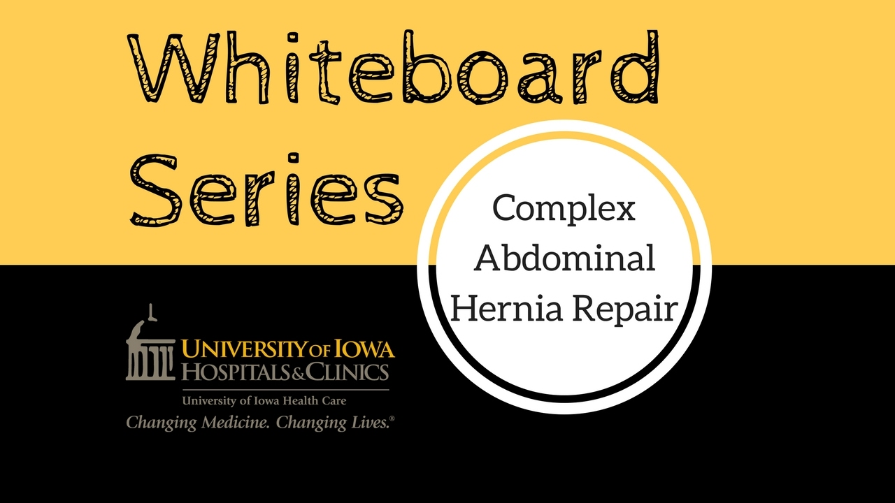 Complex Abdominal Hernia Repair – Component Separation - YouTube