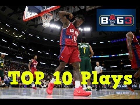 TOP 10 Plays | Week 2 | BIG3 Season 2018