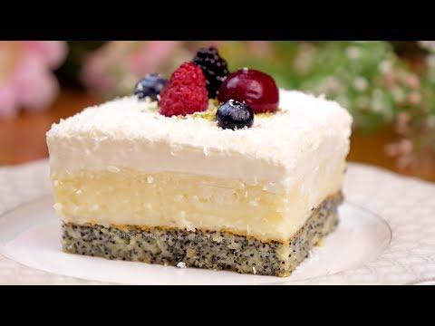 """Десерт на праздничный стол для большой компании! Сливочно-кокосовое лакомство """"Райское наслаждение""""!"""