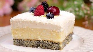 Десерт на Новый год для большой компании Сливочно кокосовое лакомство Райское наслаждение