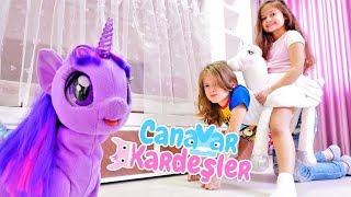 Çocuk oyun videosu. Canavar Kardeşler prenses odası yapıyorlar