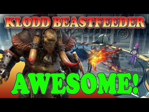 Klodd Beastfeeder is AWESOME! | Raid Shadow Legends
