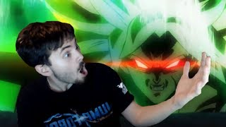 DRAGON BALL SUPER MOVIE TRAILER BROLY vs GOKU REACTION I Official Movie Trailer 2
