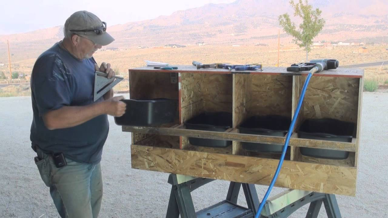 & Chicken Nesting Boxes - YouTube Aboutintivar.Com