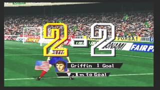 Scenario 16 Usa vs Brazil (Final Scenario Mode) International Superstar Soccer 64