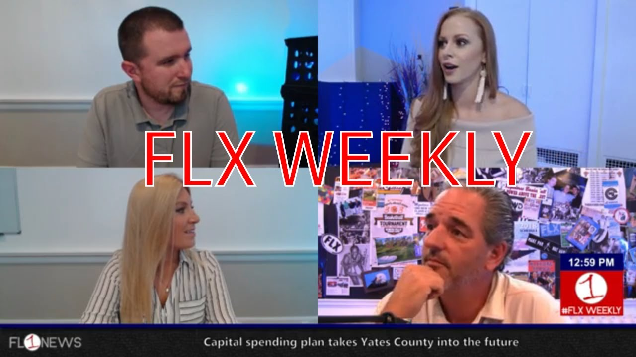 FLX WEEKLY LIVE AT 12:30: Snow in the forecast & hot sauce in the studio (podcast)