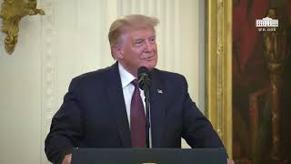 President Trump Presents the Medal of Honor to Sergeant Major Thomas Payne, United States Army