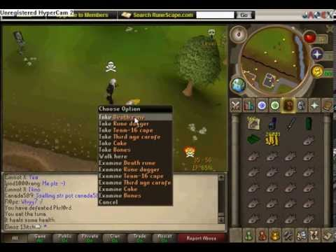 how to make a good pk account on runescape