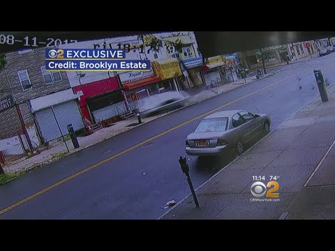 CBS2 Exclusive: Car Loses Control In Canarsie