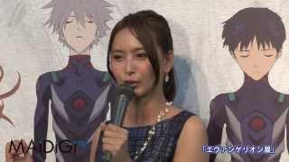 女優の加藤夏希さんが8月7日、東京・銀座の「松屋銀座」で行われている...