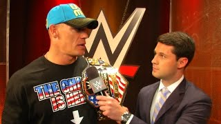 John Cena reacts to his ESPN Sports Humanitarian of the Year nomination: WWE.com Exclusive, June 29,