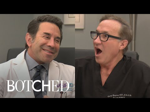 """Dr. Nassif Blames Dr. Dubrow for """"Flying Squirrel"""" Face Lift   Botched   E!"""