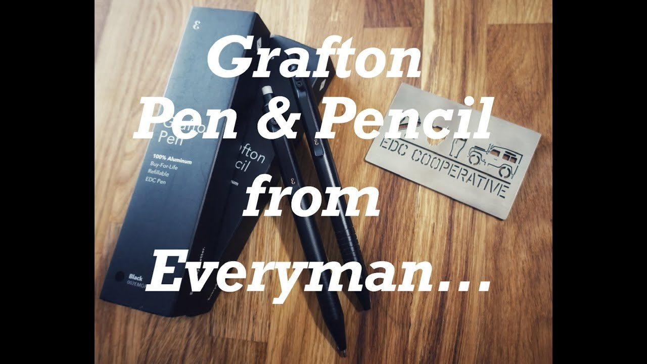 grafton pen and pencil from Everyman
