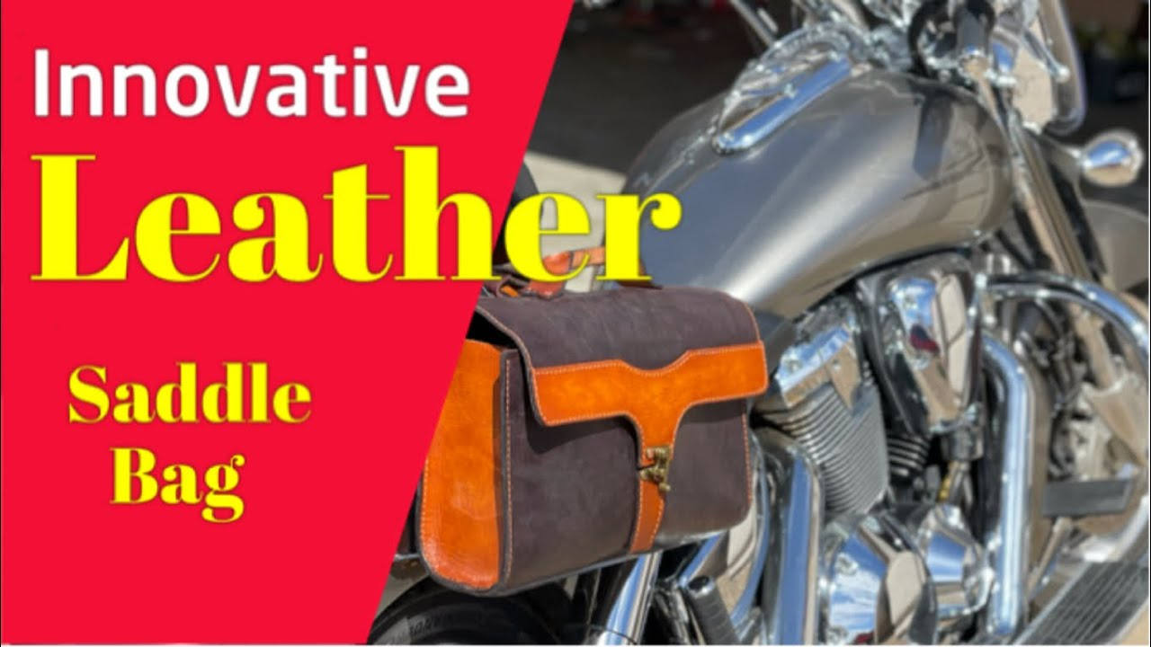 DIY Custom Leather Saddle Bags / Panniers For Motorcycle