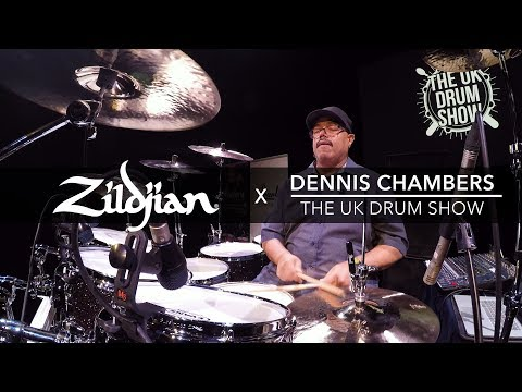 Dennis Chambers - 2017 UK Drum Show Performance