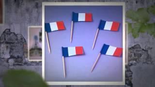 Mottoparty Frankreich - PartyDeko.de