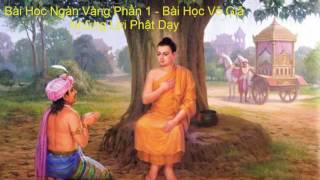 Bài Học Ngàn Vàng - Bài Học Vô Giá_Những Lời Phật Dạy
