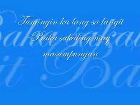 Hawak Kamay w/ Lyrics