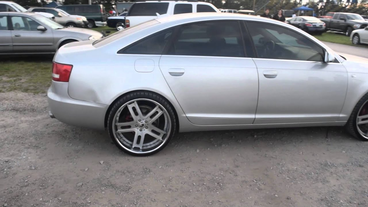 Audi A6 On 22 Quot Forgiato Wheels 2015 South Invades The