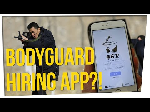 App Connects People With $10hr Bodyguards ft. Gina Darling
