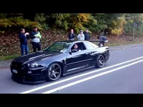 Nissan Skyline GT-R all models.  Sound Compilation ( PGC-10, KPGC-10, C110, R32, R33, R34)