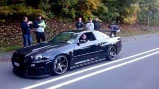 Nissan Skyline GT-R all models.  Sound Compilation ( PGC-10, KPGC-10, C110, R32, R33, R34)