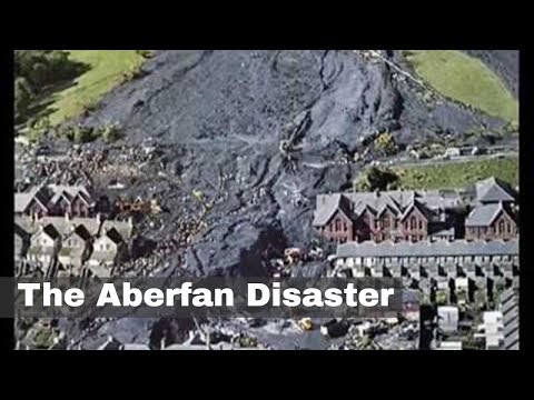 21st October 1966: 144 People Killed In The Aberfan Disaster