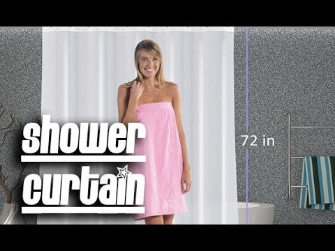 Best Mildew Free Shower Curtain Review!  Low Price curtain Liner