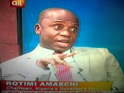 Interview with Gov  Amaechi