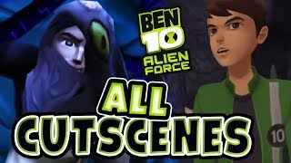 Ben 10: Alien Force All Cutscenes | Full Game Movie (PS2, PSP, Wii)(Ben 10: Alien Force All Cutscenes Ben 10 Game Movie from Wii, PS2, PSP game cinematics., 2016-08-28T03:22:18.000Z)