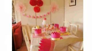 Decoration Anniversaire Princesse