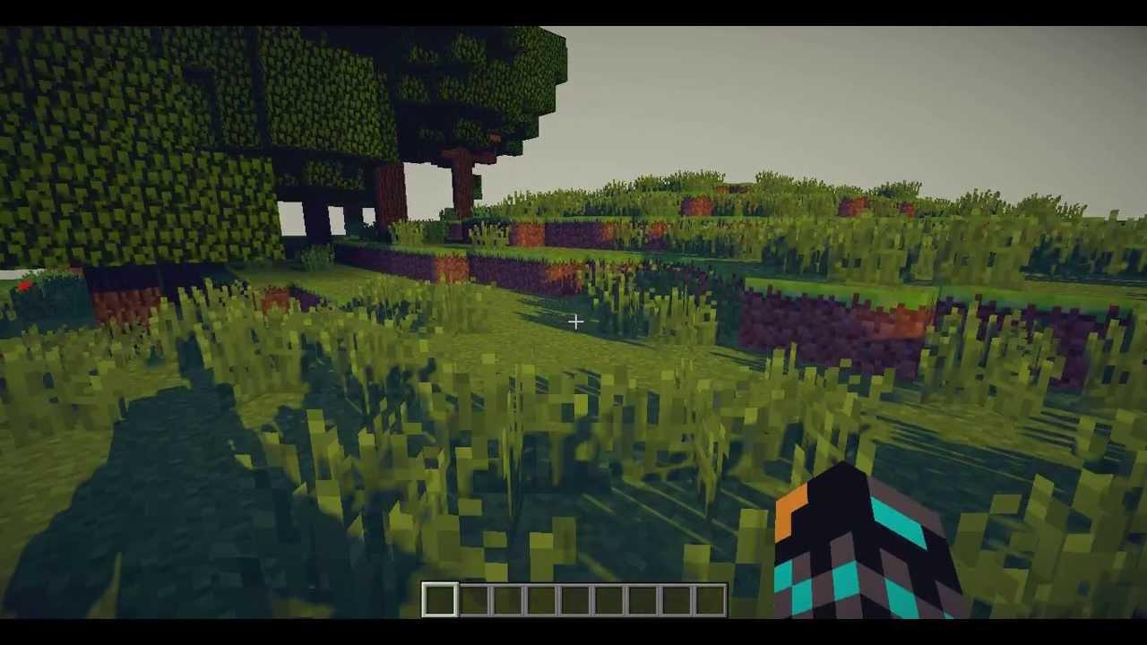 Шейдеры для minecraft 1.8