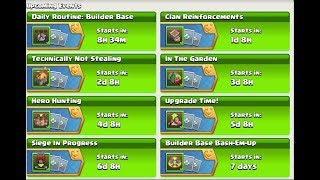Clash of Clans - New Daily Routine Challenges!!