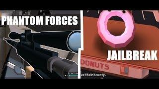 Forces fantômes/Jailbreak/Poids! vivre! Roblox!