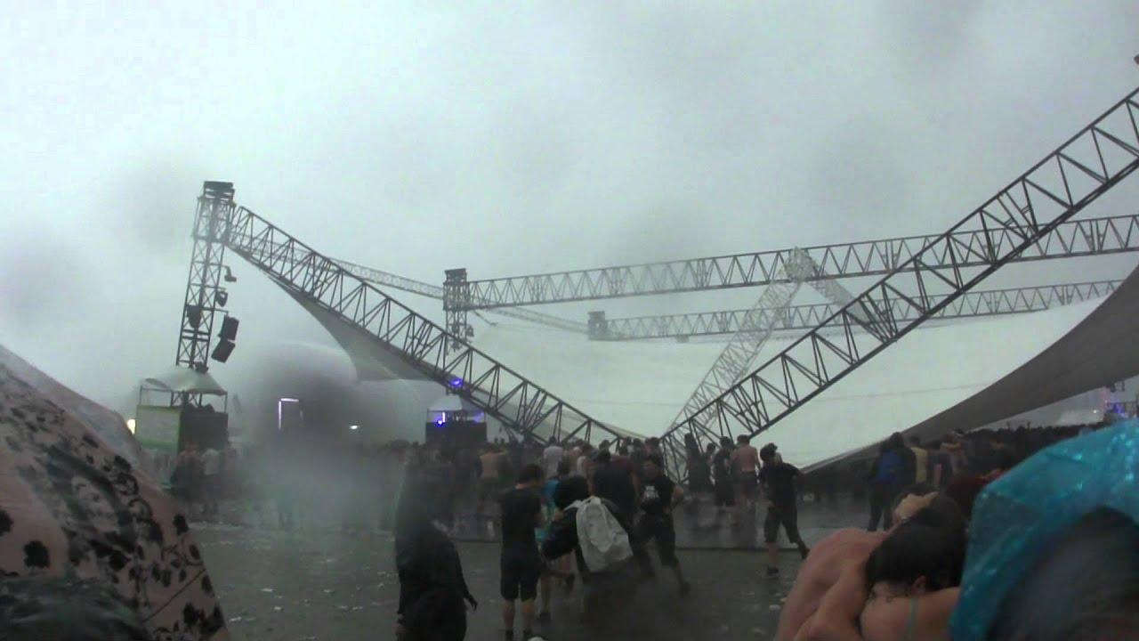Pukkelpop: Boiler Room (Outside) After Storm