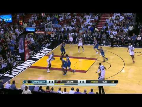 Minnesota Timberwolves vs Miami Heat | April 4, 2014 | NBA 2013-14 Season
