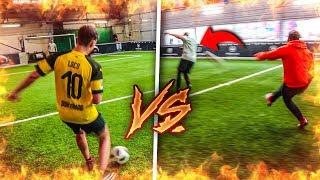 EXTREME 3 VS 3 FUßBALL CHALLENGE *Tor zu Tor*