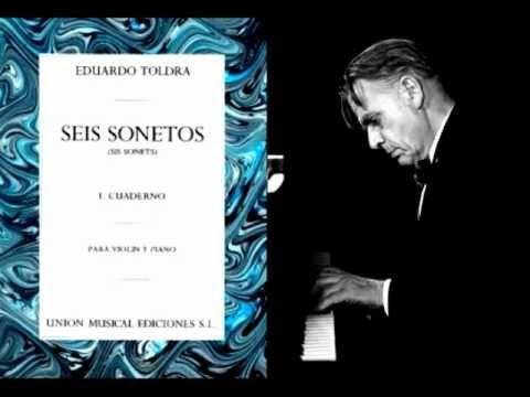 Eduard Toldrà - «Sonetí de la rosada» de