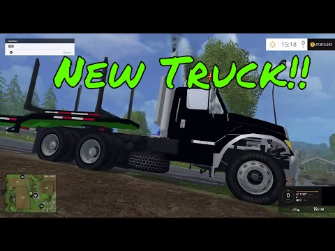Live Stream fs 15 New truck and testing it out